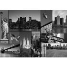 New York Mosaiek Zwart/Wit